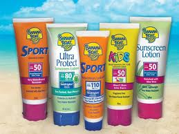 Lotions, Sunscreen, Medication and More