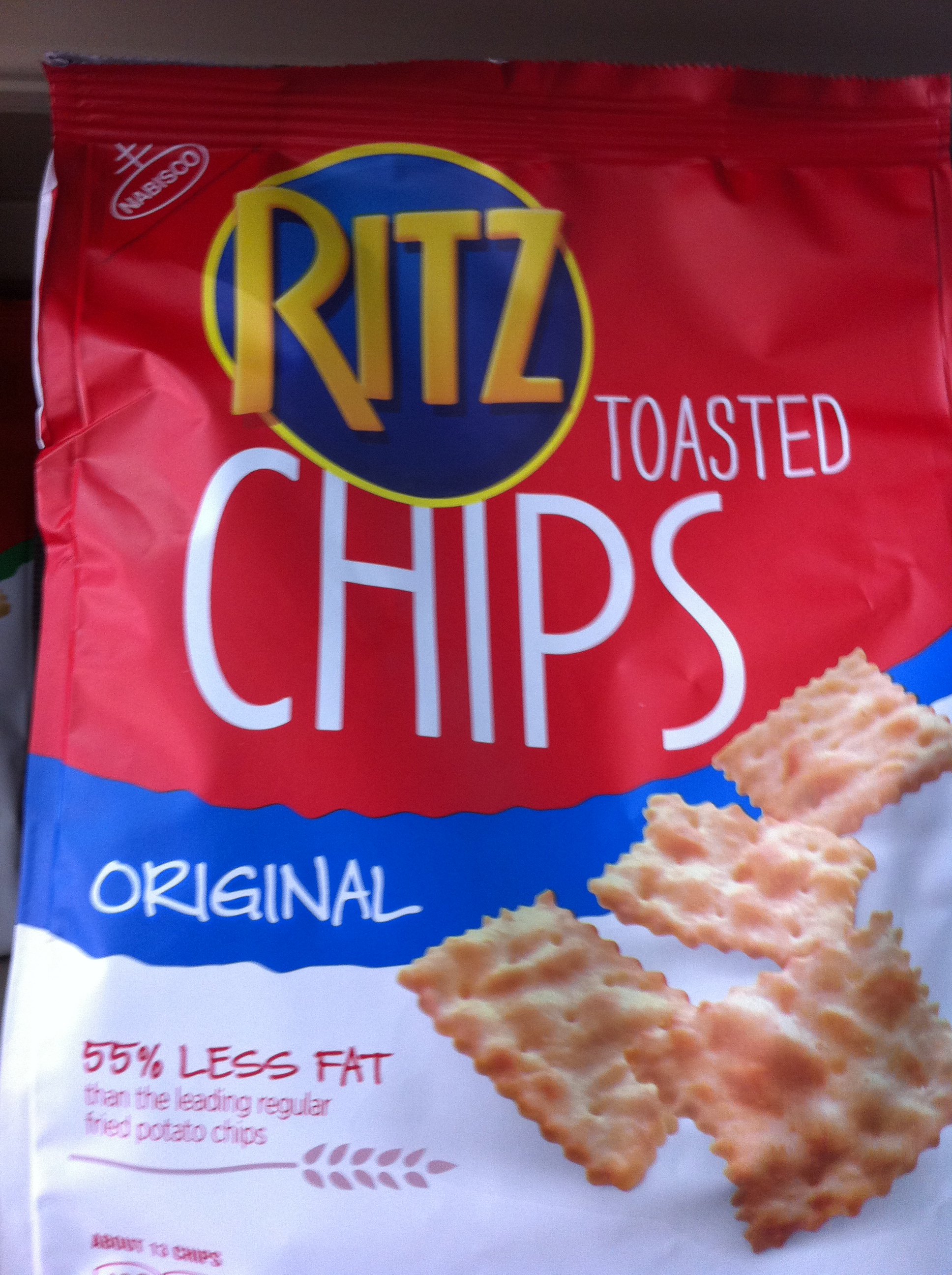 Ritz Chips - Toasted