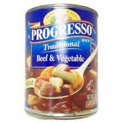 Progresso Beef and Vegetable Soup