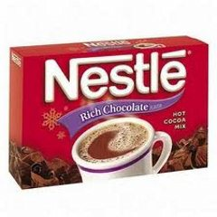 Nestle Hot Chocolate.