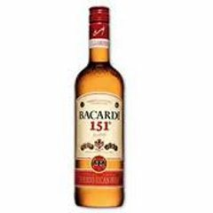 Bacardi 151º Proof
