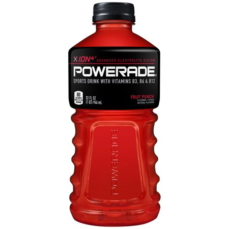 Powerade fruit punch case of 12