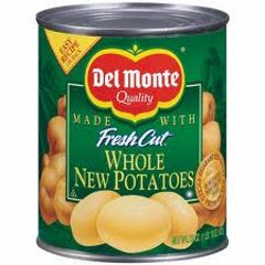 Del Monte New Whole Potatoes