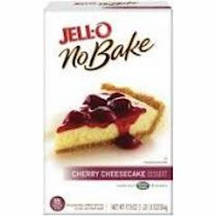Jell-O No BakeCherry Cheesecake