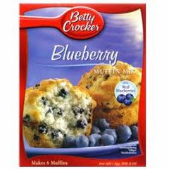 Betty Crocker Muffin Mix - Blueberry