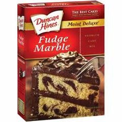 Duncan Hines Cake Mix - Fudge Marble