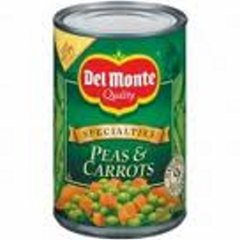 Del Monte Peas and Carrots