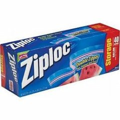 Ziploc Storage Bags (quart)