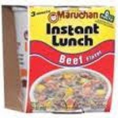 Instant Lunches (Noodles)-Beef