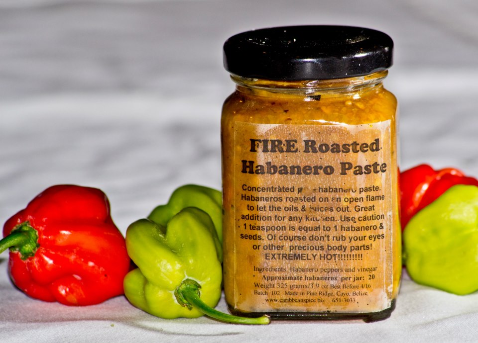 Fire Roasted Habanero Paste