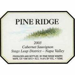 Pine Ridge Cabernet Sauvignon Stags Leap 2005