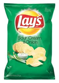 Lay's Sour Cream and Onion chips