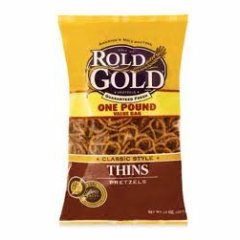 Rolled Gold Pretzels