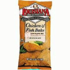 Louisiana Chicken and Fish Bake 6 oz.