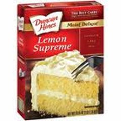 Duncan Hines Cake Mix - Lemon Supreme