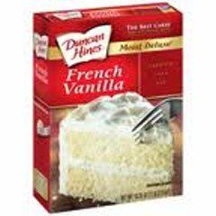 Duncan Hines Cake Mix - French Vanilla