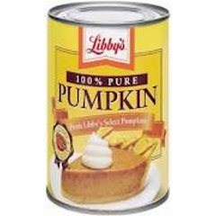 Pumpkin canned