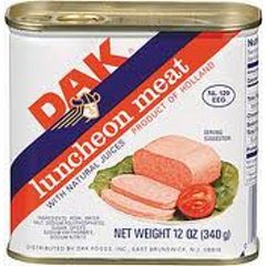 DAK Pork Luncheon Meat