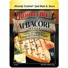 Bumblebee Albacore Steak Lemon & Cracked Pepper (VacPac)