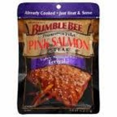 Bumblebee Pink Salmon Steak  Teriyaki (VacPac)