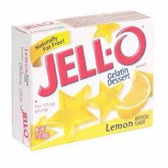 Lemon Jell-O (not pre-made)