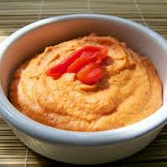 Hummus  - Roasted Red Pepper