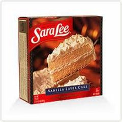 Sara Lee Vanilla Layer Cake