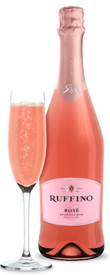 Ruffino  rose sparkling (Italy)