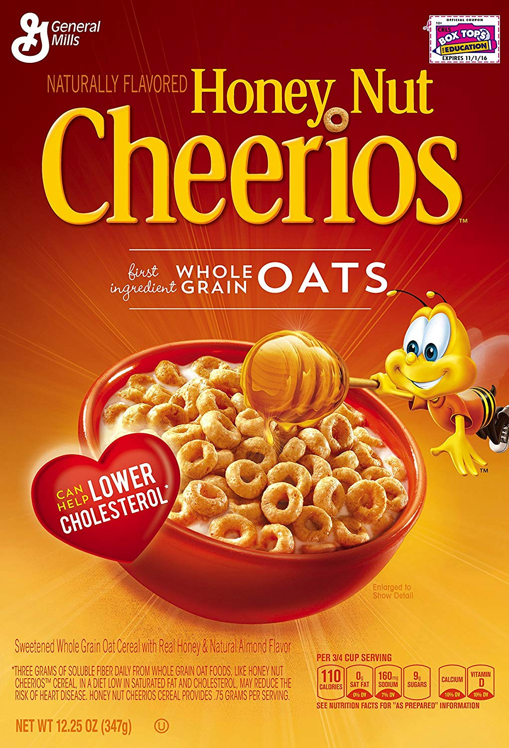 Cheerios Honey Nuts