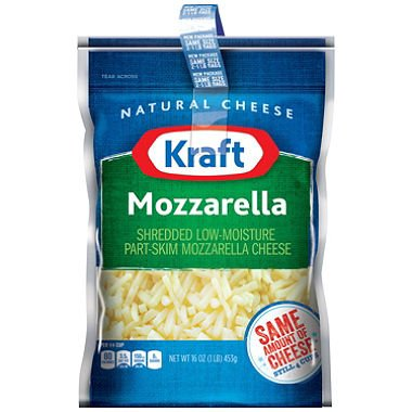 Kraft Grated  Mozzarella
